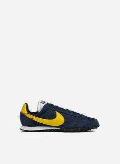 Nike - Waffle Racer, Obsidian/Chrome Yellow/White