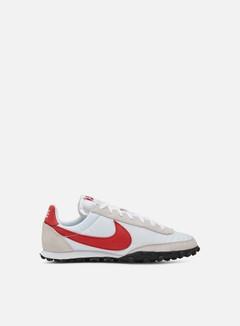 Nike - Waffle Racer, White/Platinum Tint/White/University Red