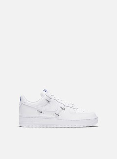 Nike - WMNS Air Force 1 07 LX, White/White/Hyper Royal/Black