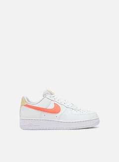 Nike - WMNS Air Force 1 07, White/Atomic Pink/Fossil/White