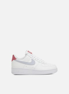 Nike - WMNS Air Force 1 07, White/Ghost/Desert Berry/White