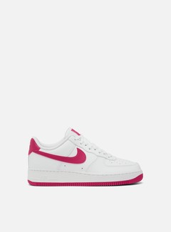 Nike - WMNS Air Force 1 07, White/Wild Cherry/White