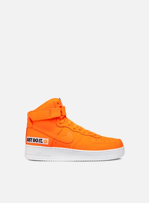 sneakers nike wmns air force 1 hi lx leather total orange total orange