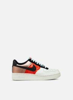 Nike - WMNS Air Force 1 Low, Metallic Red Bronze/Teal Tint/Bright Crimson/Black