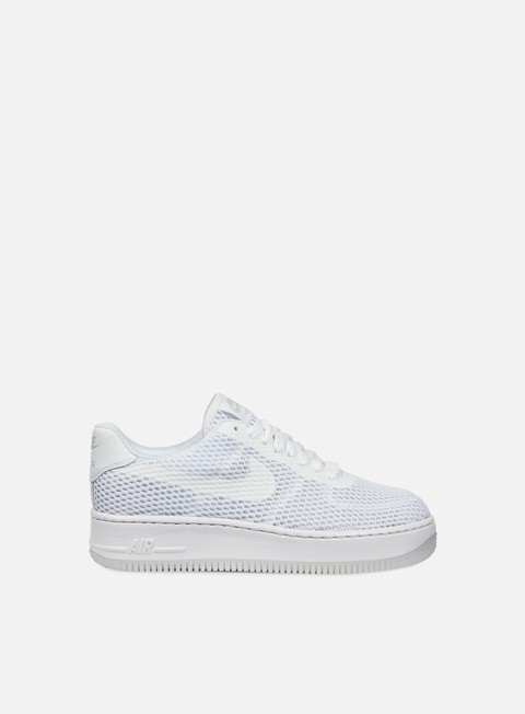 sneakers nike wmns air force 1 low upstep br white white
