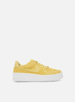 Nike - WMNS Air Force 1 Sage Low, Celery/Celery/White