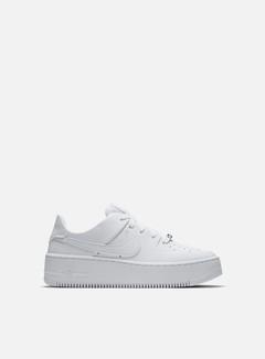 Nike - WMNS Air Force 1 Sage Low, White/White/White