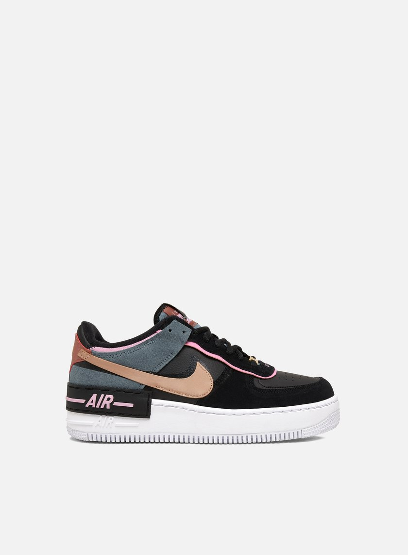 air force 1 donna nere e rosa