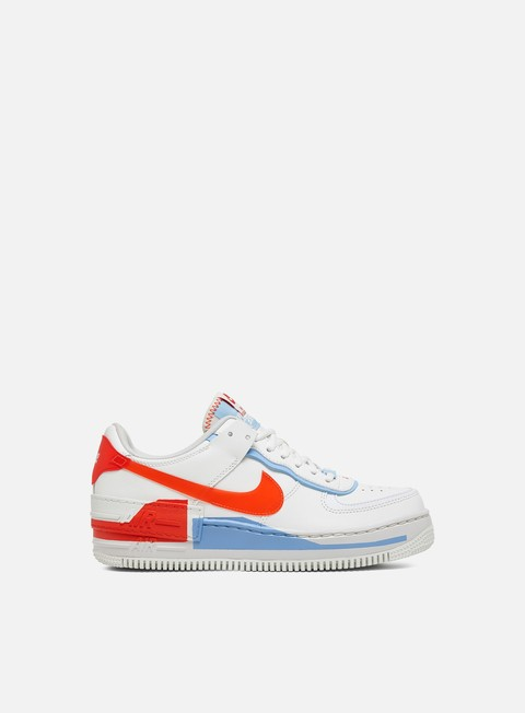 air force 1 bianche e arancioni