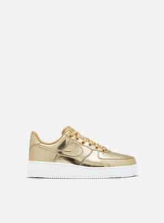 Nike - WMNS Air Force 1 SP, Metallic Gold/Club Gold/White