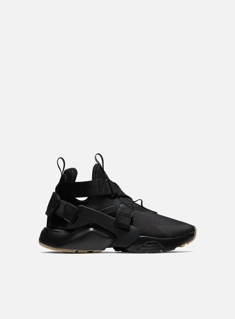 sneakers nike wmns air huarache city black black dark grey