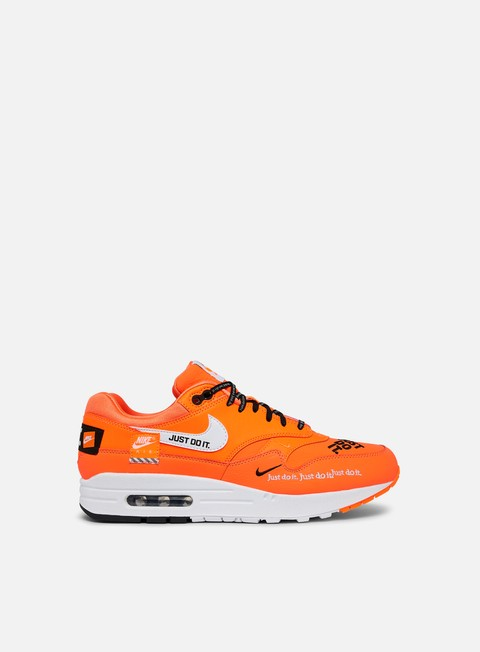 sneakers nike wmns air max 1 lx total orange white black
