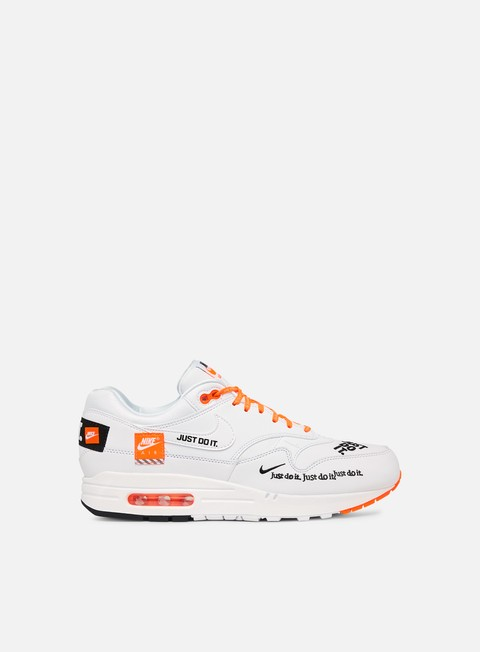 sneakers nike wmns air max 1 lx white black total orange