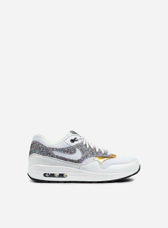 Nike - WMNS Air Max 1 SE, White/White/Black