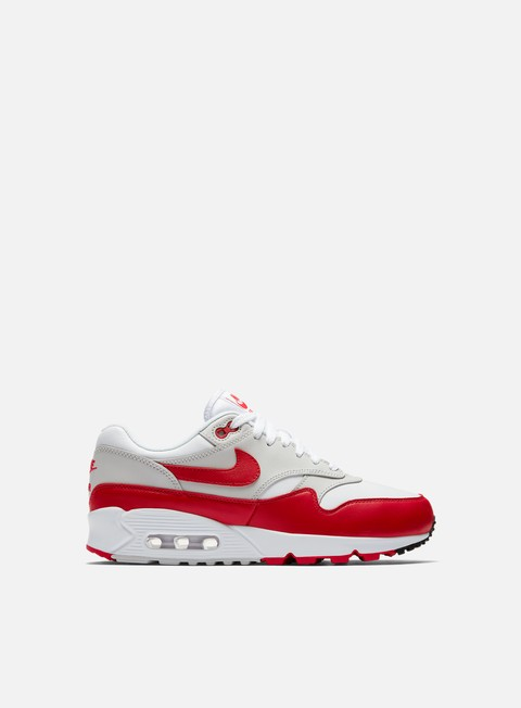 sneakers nike wmns air max 90 1 white university red