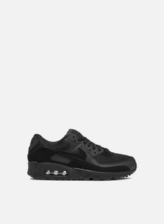 Nike - WMNS Air Max 90, Black/Black/Black/White