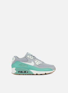 Nike - WMNS Air Max 90 Essential, Wolf Grey/Barely Green 1