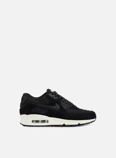 Nike - WMNS Air Max 90 Premium, Black/Black/Ivory 1