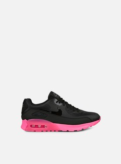 Nike - WMNS Air Max 90 Ultra, Black/Black/Digital Pink