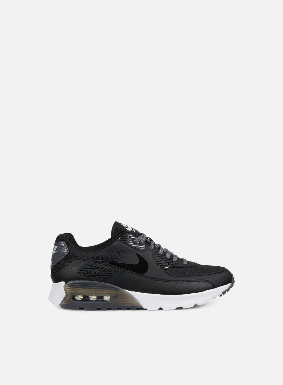 Nike - WMNS Air Max 90 Ultra Essential, Black/Black/Dark Grey