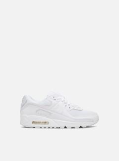 Nike - WMNS Air Max 90, White/White/White/Wolf Grey