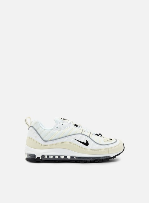 sneakers nike wmns air max 98 white black fossil