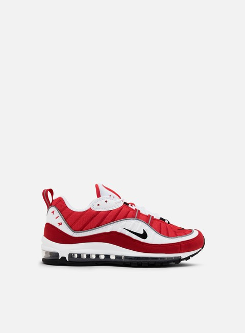 sneakers nike wmns air max 98 white black gym red