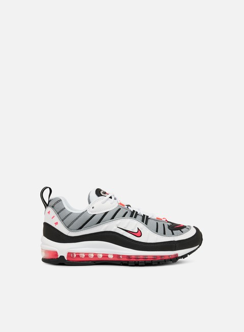 sneakers nike wmns air max 98 white solar red dust