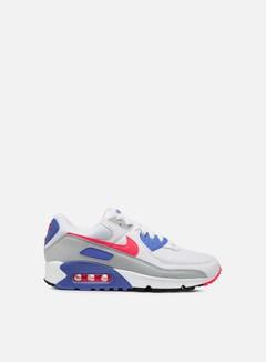 Nike - WMNS Air Max III, White/Hot Coral/Blue Crystal/Grey Fog