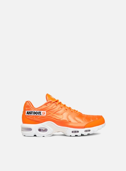 sneakers nike wmns air max plus se total orange white black