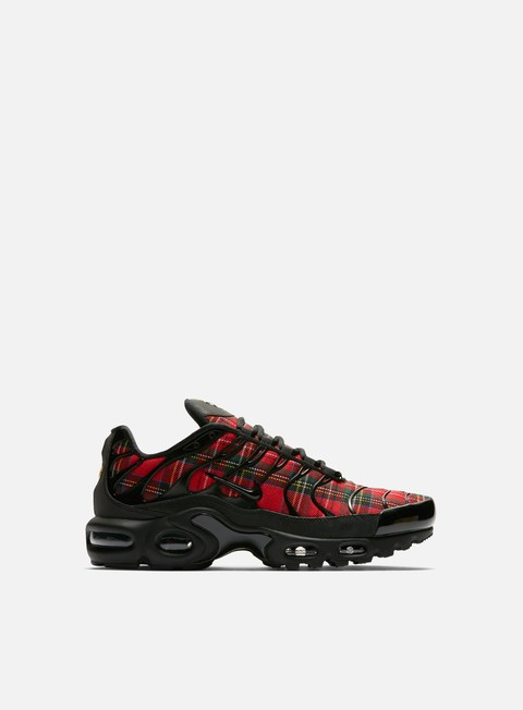 sneakers nike wmns air max plus tn se black black university red