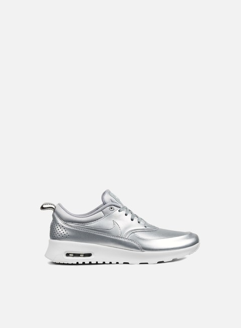 sneakers nike wmns air max thea se metallic silver