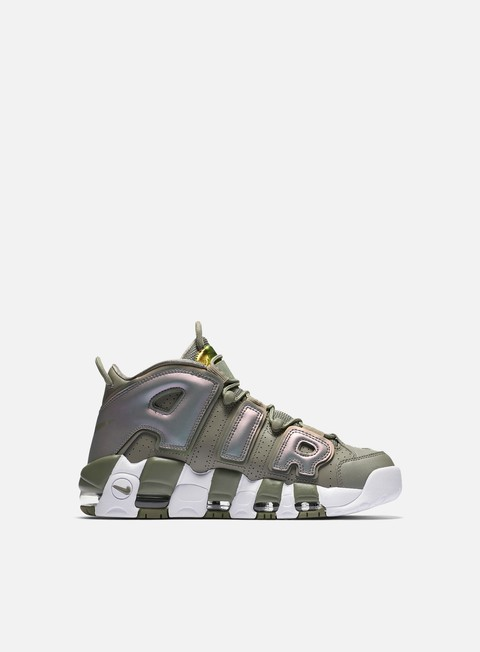 sneakers nike wmns air more uptempo dark stucco white black