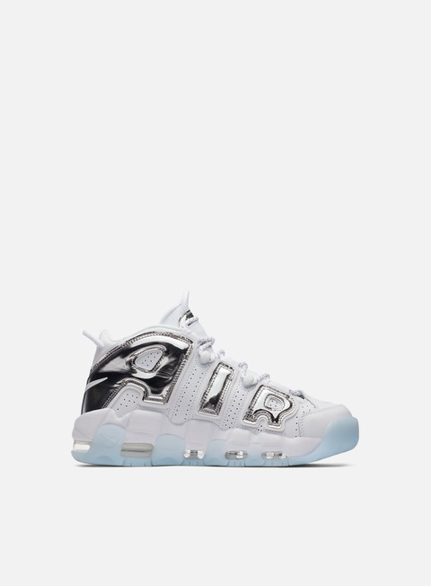 sneakers nike wmns air more uptempo white chrome blue tint