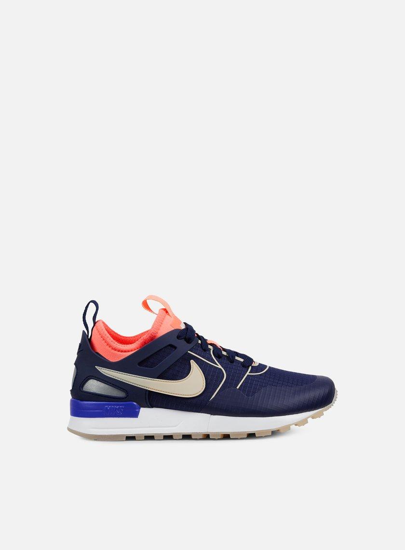 Nike – W Air Pegasus 89 Tech Si Womens Shoes Binary BlueOatmeal Lava Glow White