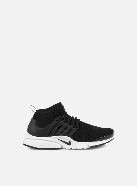 sneakers nike wmns air presto flyknit ultra black black white