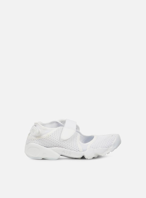 sneakers nike wmns air rift br white pure platinum
