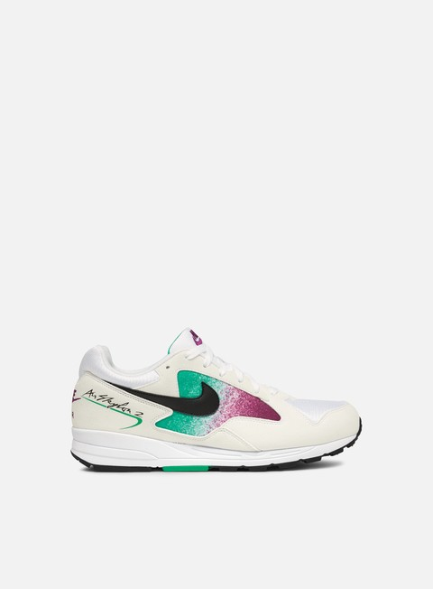 sneakers nike wmns air skylon ii white black clear emerald