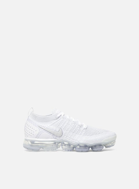 sneakers nike wmns air vapormax flyknit 2 white white vast grey
