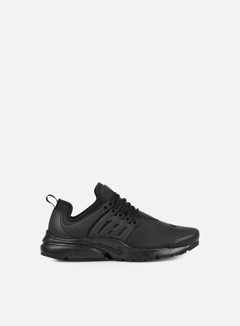 sneakers nike wmns beautiful air presto premium black black black