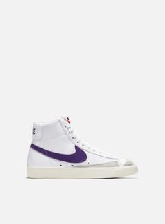 Nike - WMNS Blazer Mid 77, White/Voltage Purple/Sail