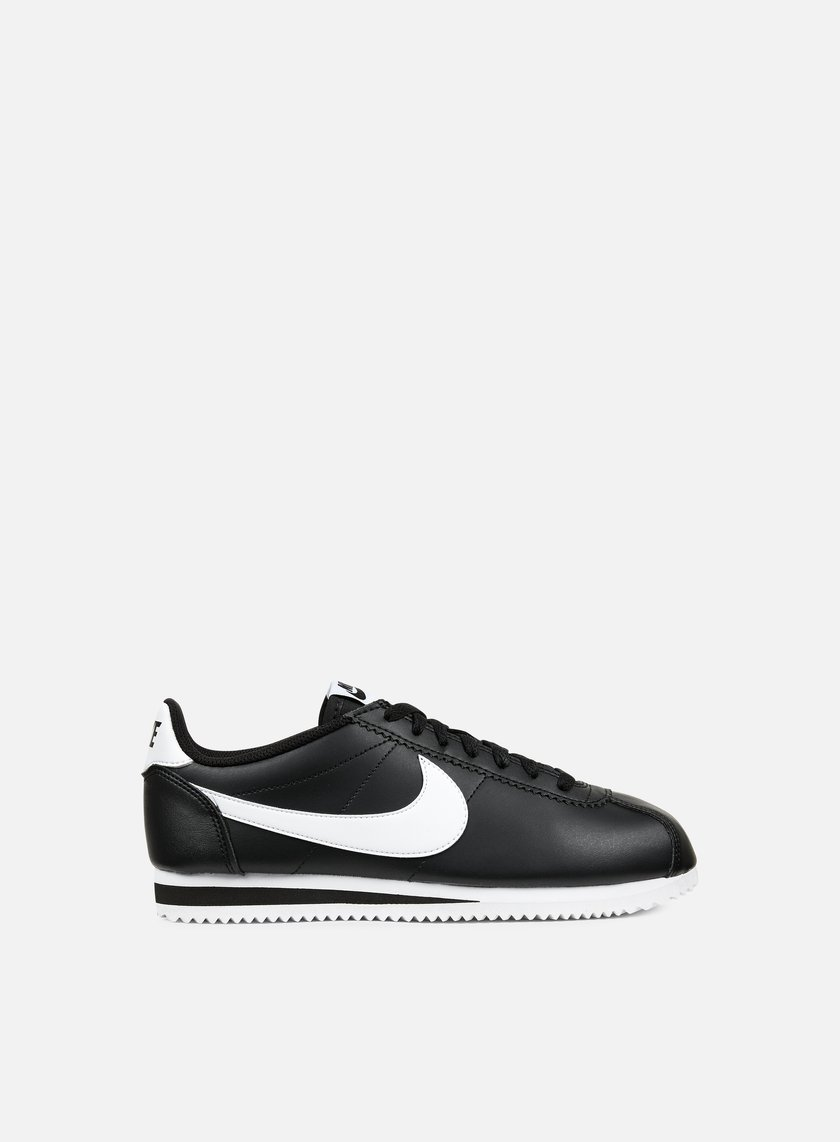 Nike - WMNS Classic Cortez Leather, Black/White