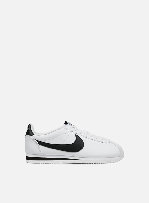 sneakers nike wmns classic cortez leather white black