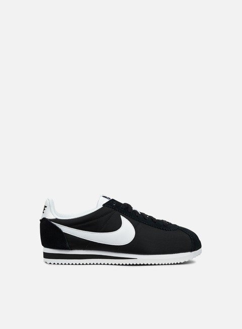 sneakers nike wmns classic cortez nylon black white