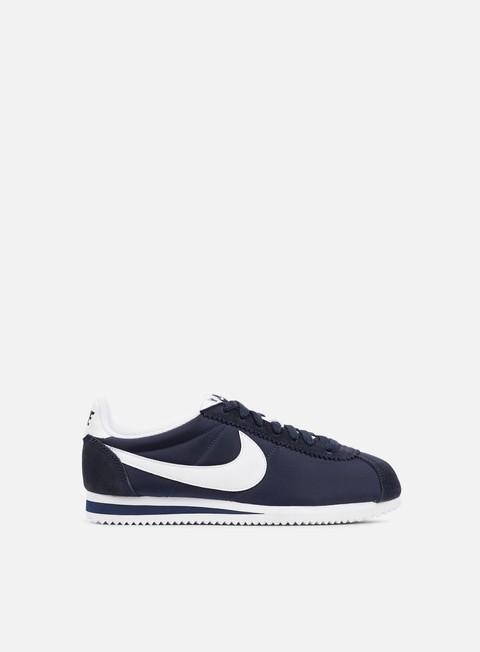 sneakers nike wmns classic cortez nylon obsidian white