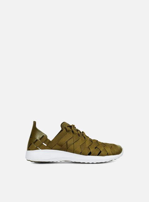 sneakers nike wmns juvenate woven olive flak black white