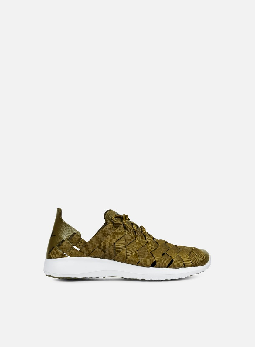 nike wmns juvenate woven olive flak black white 1