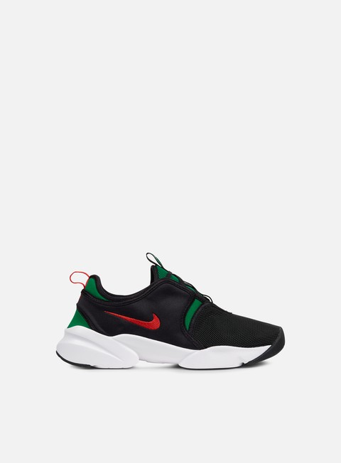 sneakers nike wmns loden black atom red pine green
