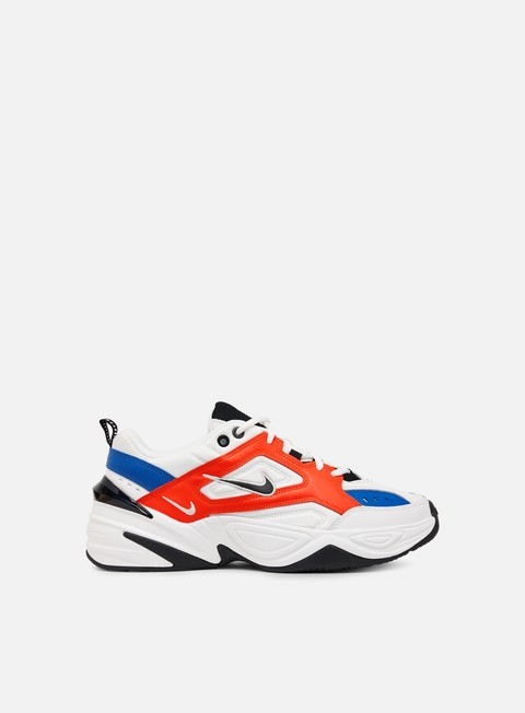 sneakers nike wmns m2k tekno summit white black team orange