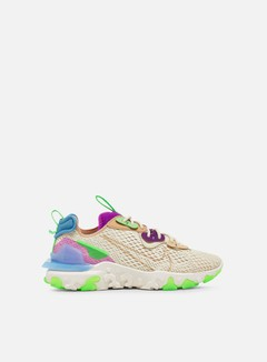 Nike - WMNS React Vision, Fossil/Vachetta Tan/Vivid Purple